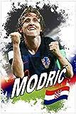 1art1 116429 Fußball - Luka Modric, Kroatien XXL Poster
