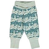 Maxomorra Baby Hose Rib Pants Ocean Landscape 62/68