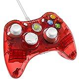 PDP - Mando Con Cable Rock Candy, Licenciado, Color Rojo (Xbox 360)