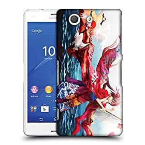 Snoogg Kisuki Designer Protective Phone Back Case Cover For Sony Xperia Z3 Compact
