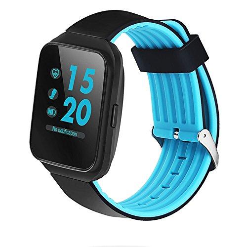 Lemumu Z40 Bluetooth Smart Watch Blutdruck überwachen Herzfrequenz Smartwatch Männer Call Message Erinnerung tragbare Geräte sehen, - Blutdruck Dock