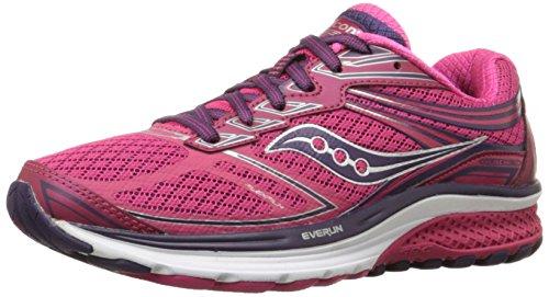 Saucony Guide 9, Zapatillas de Running para Mujer, Rosa (Pink), 37 EU