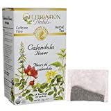 Celebration Herbals Calendula Flower Herbal Tea -- 24 Tea Bags