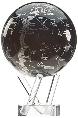 FU1200 - High Tech Globus. MagicFloater.: High-Tech Globus der Sonderklasse, Darstellung der Milchstraße und der Sternbilder unseres Sonnensystems
