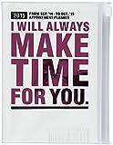 MARK'S 2015 Taschenkalender A6 vertikal, MAKE TIME//Pink