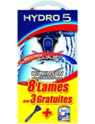Wilkinson - Hydro 5 - Coffret : Rasoir et pack de 8 lames pour Homme