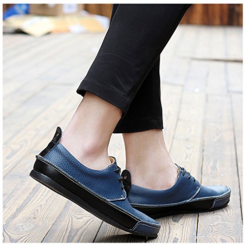 Chaussures de ville a lacets homme Bleu