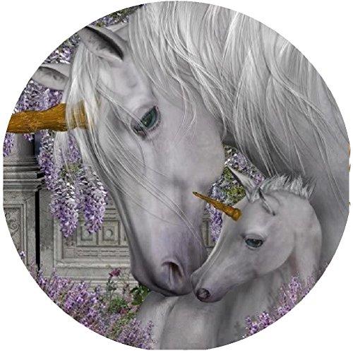 Tortenaufleger Pferde 05 mit Glitzereffekt