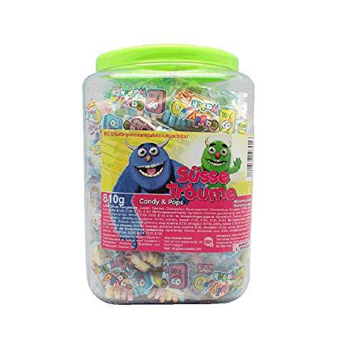 Preisvergleich Produktbild Süße Armbänder Candy Watches süße Uhren einzeln verpackt 60 Stück / 13, 5g / 810g Kindergeburtstag Süßigkeiten