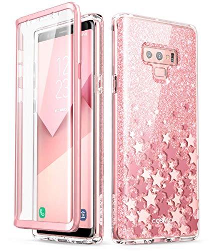 i-Blason [Cosmo] Schutzhülle für Samsung Galaxy Note 9 (Version 2018) (Rosa)