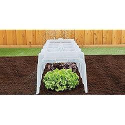 Mini serre-tunnel de jardin - De qualité supérieure - Pour la protection des plantes