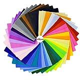 Erlliyeu Multicolore Filz Stoff DIY Handgefertigt Polyester