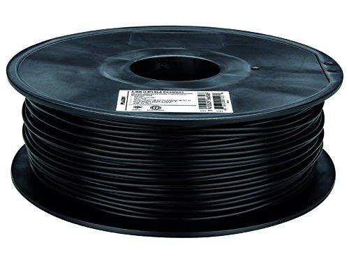 Filament PLA plastique PLA Ø 3 mm noir Velleman PLA3B1