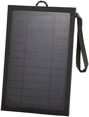 reVolt Mini Solarpanel: USB-Solarpanel für Mobilgeräte & Powerbanks, 5 Watt, 5 V, 1 A (Solar Panel Smartphone)