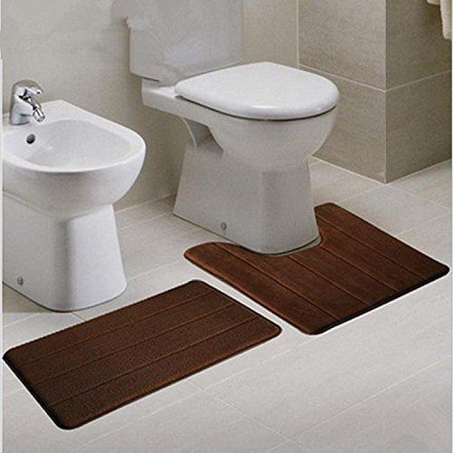 Xueyan Matte WC-Sets U-förmigen Bad WC Coral Samt Zwei-teiliges Set, 4 -