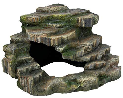 Trixie 76196 Eck-Felsen mit Höhle und Plattform, 26 × 20 × 26 cm - 2