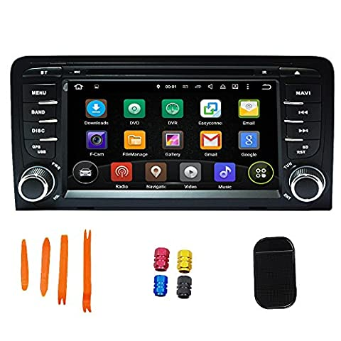 Quick Android 5.1.1 Car Stereo GPS Player 7 Inch Multimedia GPS Navigation Support Canbus Wifi GPS OBD USB DVR BT Radio Built-in 3D Map Free Tools For A3