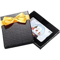 Amazon.de Geschenkkarte in Geschenkbox (Schneekugel - schwarz) - mit kostenloser Lieferung per Post