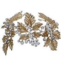 Yazilind tocados novia diademas para el pelo mujer tocados de pelo Estilo de la flor de la joyer¨ªa del vestido de pelo (Estilo13)