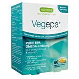 Igennus Vegepa Omega-3-6 Supplement, 800mg Wild Fish Oil with Virgin Evening Primrose Oil