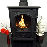 CASTMASTER DUNSTON WOOD BURNING LOG BURNER MULTIFUEL CAST IRON STOVE 5-6kw