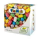 PlayMais BASIC knutselset voor kinderen vanaf 3 jaar, kleurrijke playmaïs om te knutselen, natuurlijk speelgoed, bevordert creativiteit en motoriek, cadeau voor meisjes en jongens klein.
