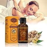 30 ml Ingwer Öl Ingweröl Natürliche Reine Ätherische Öle Anlage Therapie Lymphdrainage Schönheit Große Förderung Körper Massage Öle Aromatherapie Naturreines ätherisches BIO (1 pc)