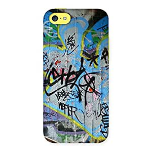 Luxirious Random Art Multicolor Back Case Cover for iPhone 5C