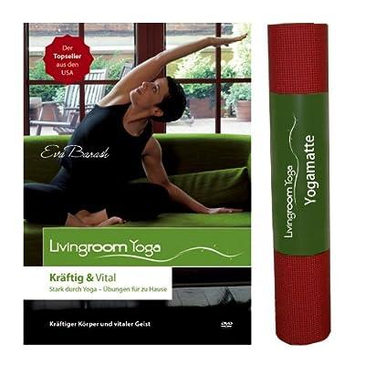 """AKTION: Yoga Kräftig und Vital - Sparset (Yoga-DVD """"Kräftig und Vital"""" plus Livingroom Yogamatte)"""