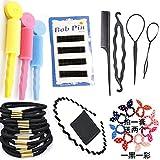 Corea esponja curler herramienta conjunto corbata pelo estilo peinado cabello combinación pelo accesorios , #1