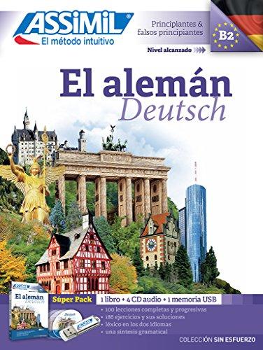 El Alemán. Superpack audio USB-MP3. Con 4 CD-Audio (Senza sforzo)