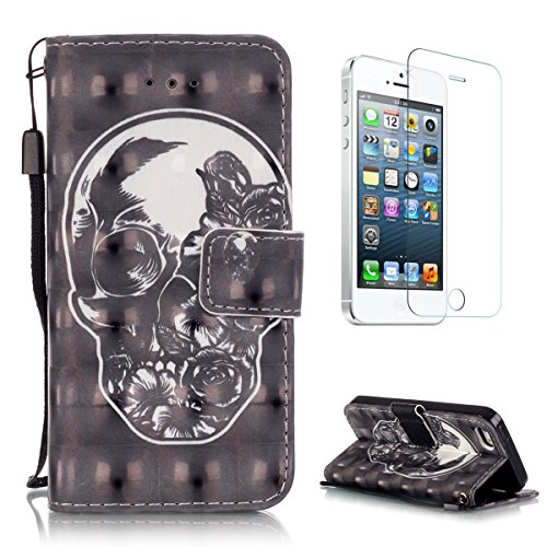 casehome-3d-patron-efecto-iphone-se-5s-5-wallet-fundacarcasa-pu-leather-cuero-suave-impresion-bird-y