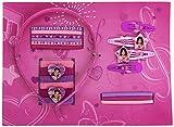 Euroswan 86760 Disney Violetta Accessori per Capelli, 20 Pezzi