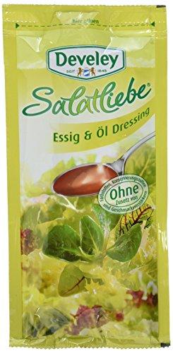 Develey Essig&Öl Portionsbeutel, 14er Pack (14 x 75 ml)
