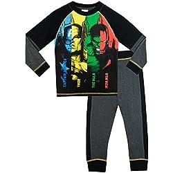 Marvel Avengers - Pijama para Niños - Thor Captain America Hulk Iron Man - 11 - 12 Años