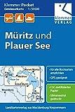 Klemmer Pocket Gewässerkarte Müritz und Plauer See: Maßstab 1:50.000, GPS-geeignet, Erlebnis-Tipps auf der Rückseite