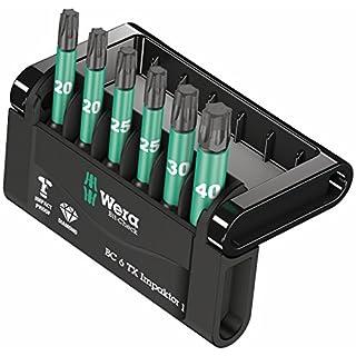 Wera Bit-Sortiment, Bit-Check 6 TX Impaktor 1, 6-teilig, 05057693001