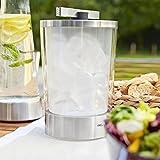 EMSA 514235 Flow Slim Eiswürfelbehälter, 14.5  x  14.5  x  23.5 cm,Transparent für EMSA 514235 Flow Slim Eiswürfelbehälter, 14.5  x  14.5  x  23.5 cm,Transparent