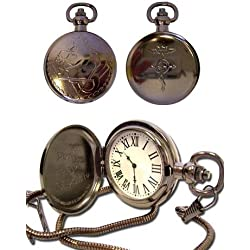 Great Eastern Entertainment Fullmetal Alchemist Anime Cosplay Pocket Watch