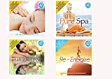 Offerta Speciale 4 Cd Audio Serie Wellness Relax Music For Massage-Pure Spa - Bath Time Re-Energize Musica Rilassante - Special offer 4 Cd Audio Series Wellness Relaxation Music For Massage-Pure Spa - Bath Time Re-Energize Relaxing Music