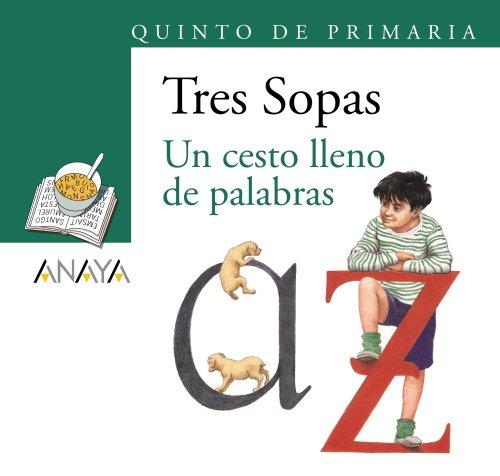 Blíster ' Un cesto lleno de palabras ' 5º de Primaria (Literatura Infantil (6-11 Años) - Plan Lector Tres Sopas (Castellano)) - 9788466785693