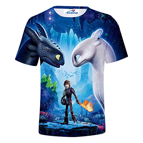 014b9de33317b Oxking Kids Child Girls and Boys Unisex Family Comedy Movie Summer 3D  Graphic Print T-