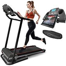 Cinta Correr Sportstech F10 controlable por Smartphone y Tablet. sensor de pulso incluido, Bluetooth, 1HP, 10KM/H. Con 13 programas de ejercicio