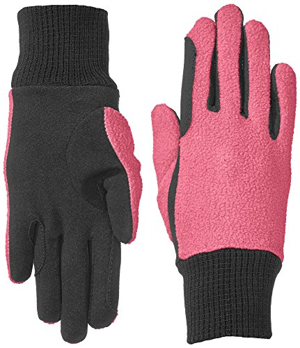 riders-trend-womens-fleece-gloves-rider-riding-gloves-dual-coloured-interior-with-elastic-wrist-amar