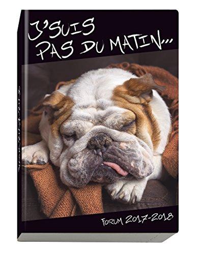 Exacompta Funny Pets Agenda Scolaire Forum août 2017 à juillet 2018 12 x 17 cm Visuel Chien