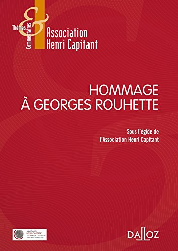 Hommage  Georges Rouhette