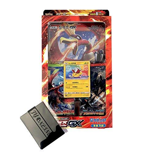Pokemon Karte Sun&Moon Spezielle Jumbo Karten-Set 42 cards Koreanisch Ver TCG + 3pcs Premium Card Sleeve Ho-Oh