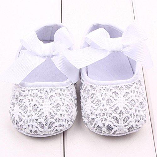 rutsch Krabbelschuhe Baby Bzline® Sneaker Kleinkind Weiche Weiß Anti Sohle IZA6qHwp