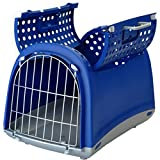 Imac - Tiertransportbox Linus Cabrio blau