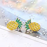 weimay Accessories Simple of the Bolt Jewellery Prisoner of Jewellery of the pattern of the Pineapple of Mrs Pearl Womens Simple of slope of the way